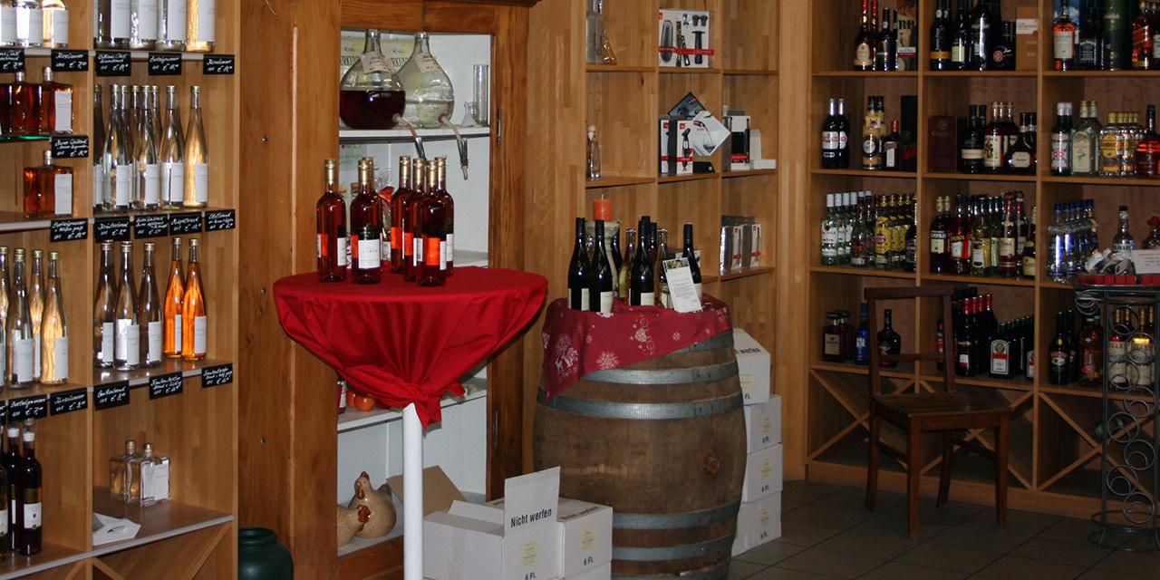 Die Wein- und Getränkehandlung